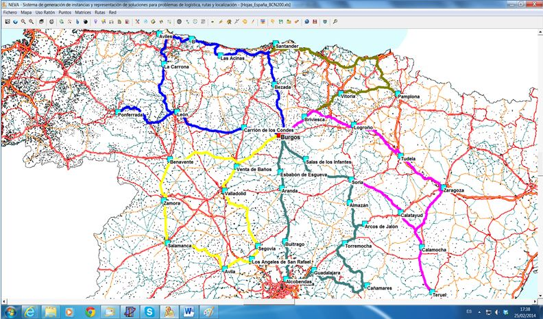 PAVEL: Vehicle route planning and logistics operations