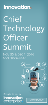 Chief Technology Officer Summit, Nov - Dec, SF, US