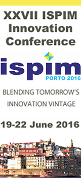 ISPIM, June 19 - 22, Porto (Portugal)