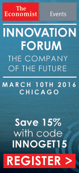 The Economist Innovation Forum 2016, 10 March, Chicago (US)