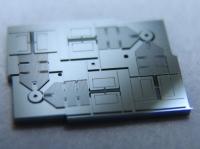Novel motion nanosensor based on mechanical amplification