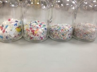 Removal of odours in recycled plastics
