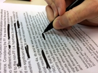 Automatic sanitization of textual documents