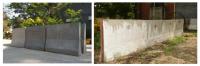 Glass textile reinforced concrete crash barrier (GTRC CRABS)
