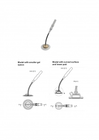 An electrode device for electroencephalography