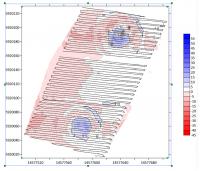 UAV-mobile geophysical system for archaeological applications