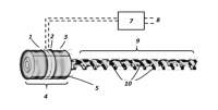 Ultrasonic capillary reactor with temperature control and homogeneous vibration